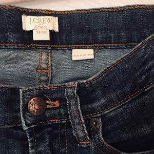 J. Crew stretch blue jeans